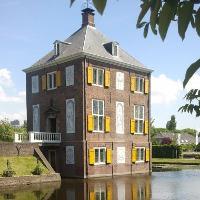 Buitenaanzicht van Huygens' Hofwijck