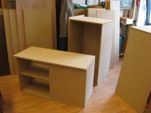Acht rechthoekige blokken