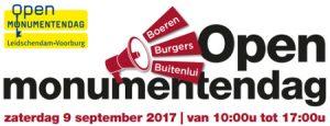 Logo Open Monumentendag 2017